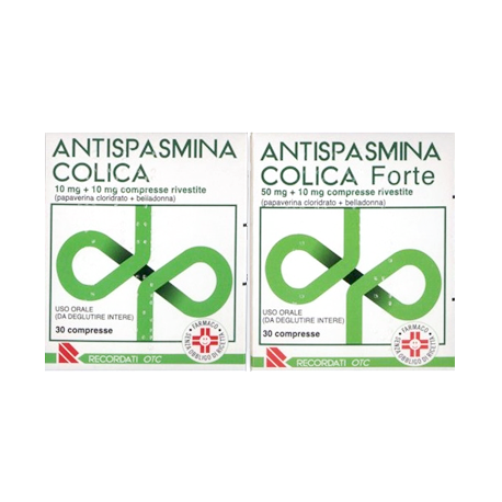 ANTISPASMINA COLICA COMPRESSE RIVESTITE