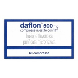DAFLON 500 MG COMPRESSE RIVESTITE CON FILM