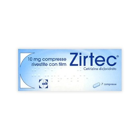 ZIRTEC 10 MG COMPRESSE RIVESTITE CON FILM
