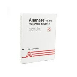 ANANASE 40 MG COMPRESSE RIVESTITE