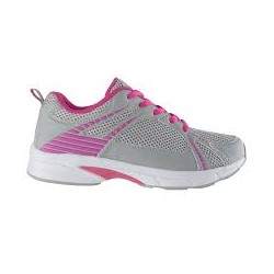 LIGHTWALKER PU+MESH WOMENS GREY/FUCHSIA 40