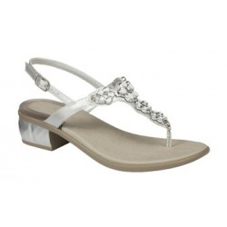 CALZATURA DOLLIE SYNTHETIC + JEWELRY WOMENS SILVER 38 TOMAIA SIMILPELLE + ACCESSORIO GIOIELLO FODERA TOMAIA SIMILPELLE