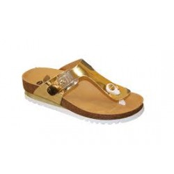 CALZATURA GLAM SS 1 SYNTHETIC LAMINATED WOMENS GOLD 40