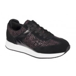 CHARLIZE PU+SUEDE WOMENS BLACK 40 MATERIALE TOMAIA SIMILPELLE+PELLE SCAMOSCIATA FODERA TOMAIA LYCRA SOTTOPIEDE LYCRA SUO
