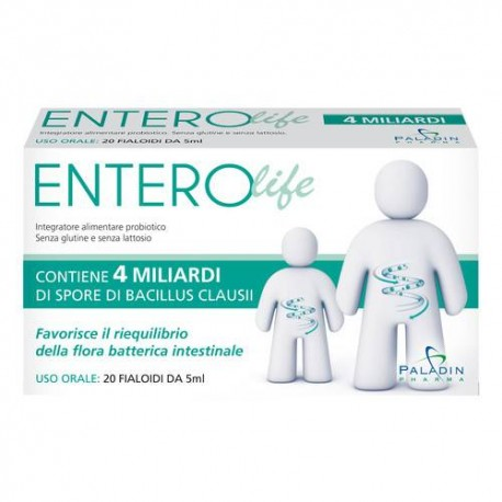 ENTEROLIFE 4 MLD 20 FIALE